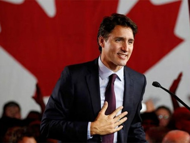 Canadian PM Justin Trudeau. PHOTO: REUTERS