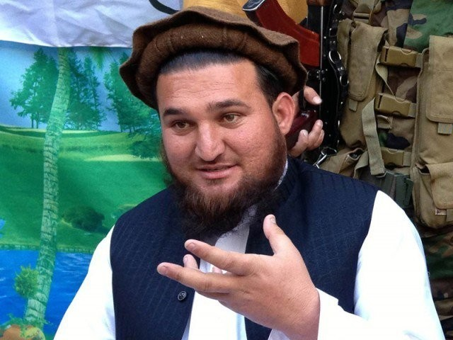 A file photo of Ehsanullah Ehsan. PHOTO: AFP