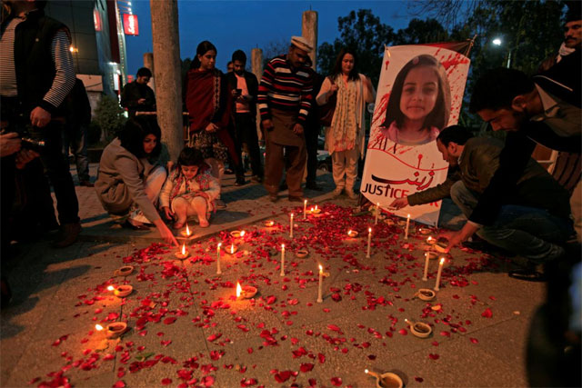 Pakistan court sentences Zainab's killer to death on four counts