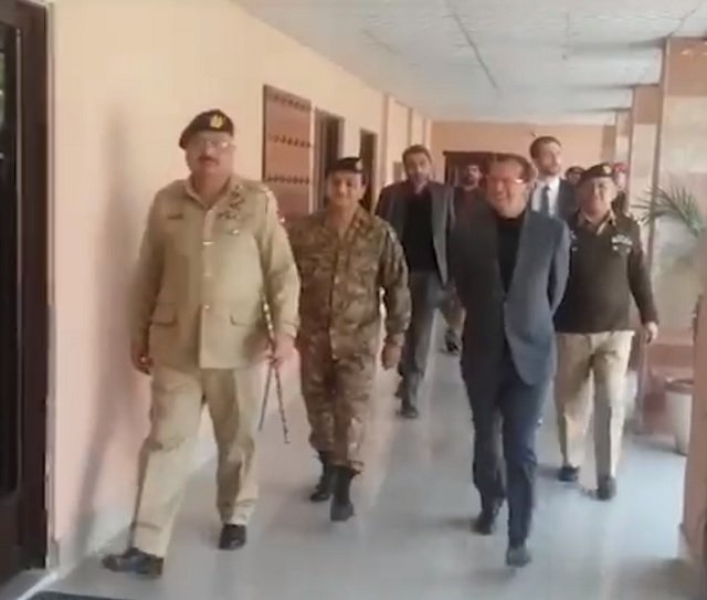German ambassador visits CMH Silakot, meets victims of Indian firing