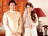 Imran Khan and Reham Khan. PHOTO: ONLINE/FILE