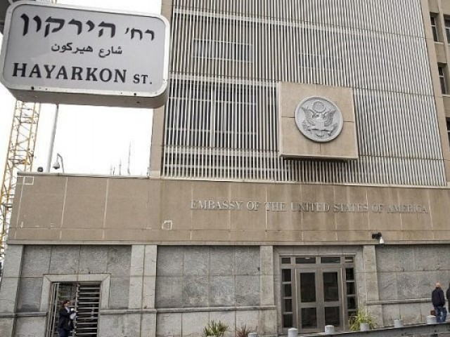 US Embassy in Israel to open ahead of schedule this May