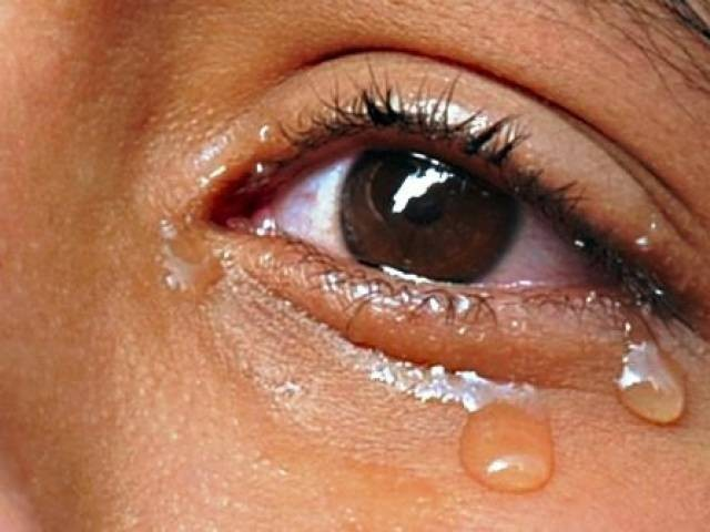 Tears may hold clues to whether someone has Parkinson's disease PHOTO: AFP