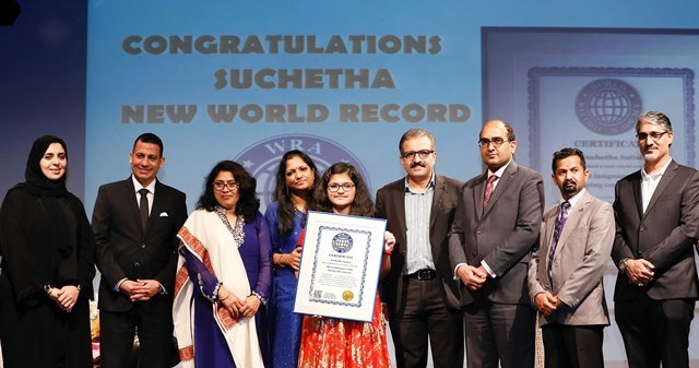 PHOTO COURTESY: WORLD RECORD ACADEMY