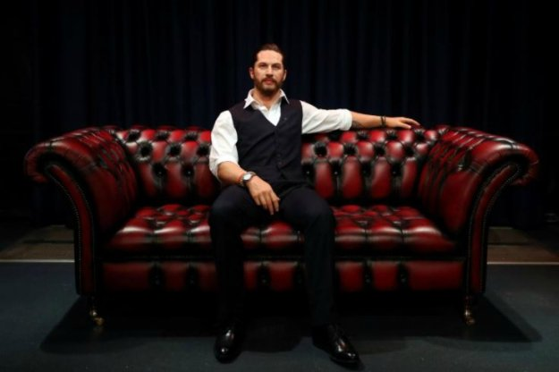 Madame Tussauds' unveils its new wax figure of British actor Tom Hardy which has a soft warm chest and a beating heart, in London, Britain, February 8, 2018. PHOTO: REUTERS/Hannah McKay