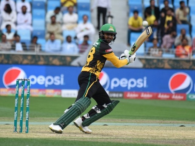 REALISTIC GOALS: Multan Sultans captain Shoaib Malik says he would love to lead the side to the playoffs, but also wants to go on to win them. PHOTO COURTESY: PSL