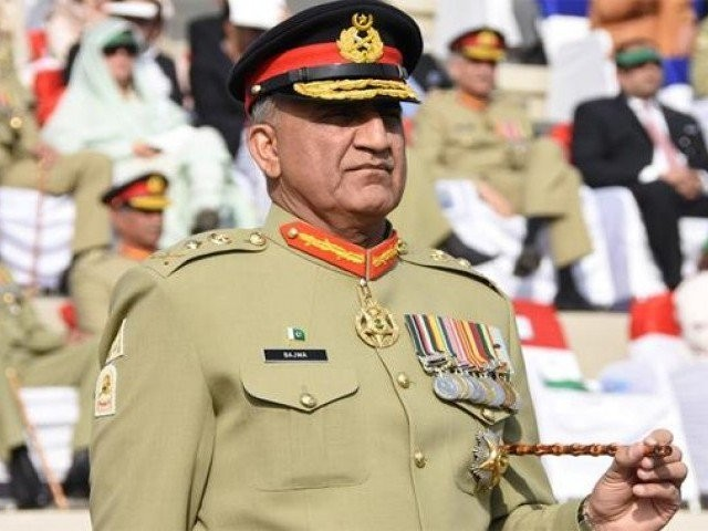Army chief Gen Qamar Javed Bajwa. PHOTO: ISPR