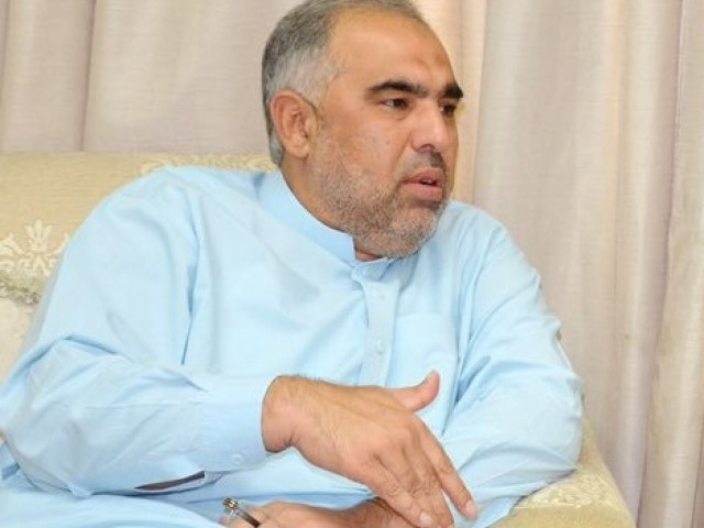 Speaker K-P assembly Asad Qaiser. PHOTO: PTI OFFICIAL