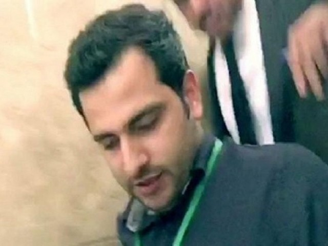 Prime accused Shahrukh Jatoi PHOTO: SCREENGRAB