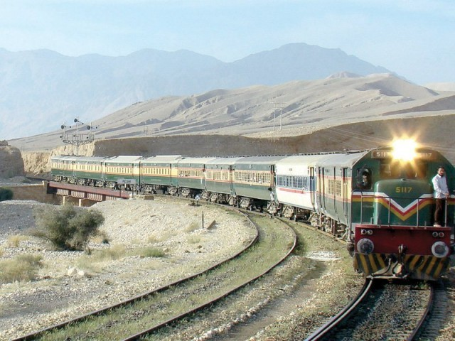 Pakistan Railways PHOTO: EXPRESS