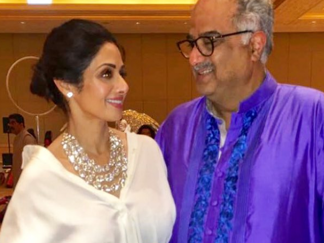 Boney Kapoor, Anil Kapoor immerse Sridevi's ashes in Ganga