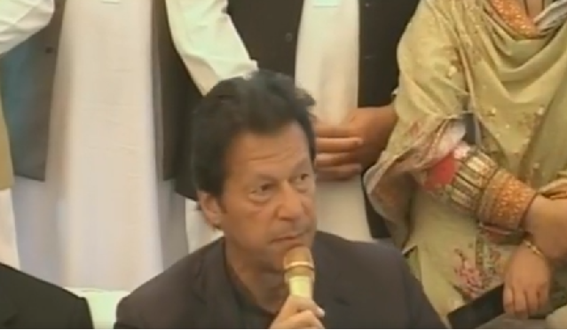 PTI wants someone from Balochistan as chairman Senate: Imran Khan