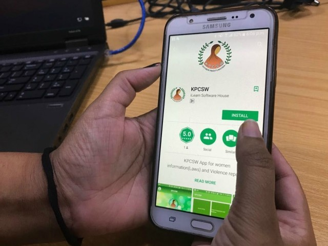 K-P launches app to battle gender-based violence