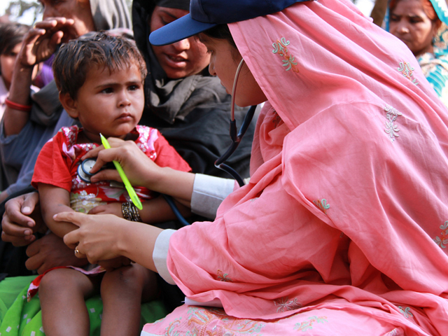 The Punjab Healthcare Commission and UNICEF agreed to work together to improve the quality of maternal, neonatal and child healthcare in the province of Punjab. PHOTO: FILE