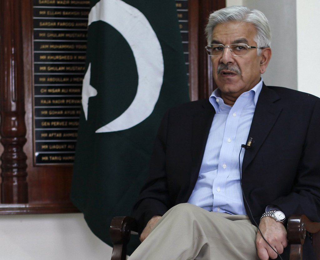 Foreign Minister Khawaja Asif. PHOTO: REUTERS
