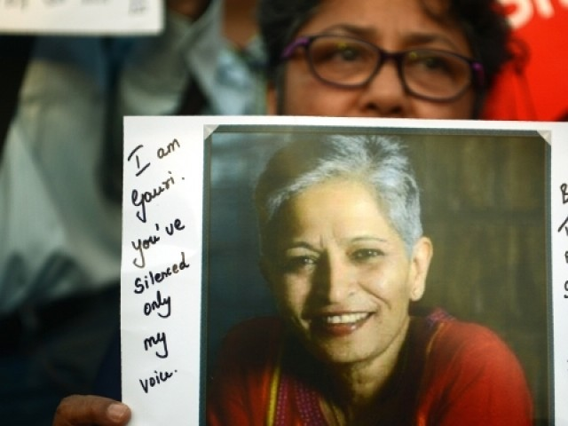 Gauri Lankesh murder: K'taka Police arrests accused after 6 months