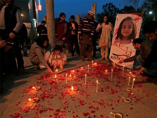 The Zainab case was unique in that the rapist and murderer was arrested but also because it started a national debate on child abuse. PHOTO: Reuters/ File