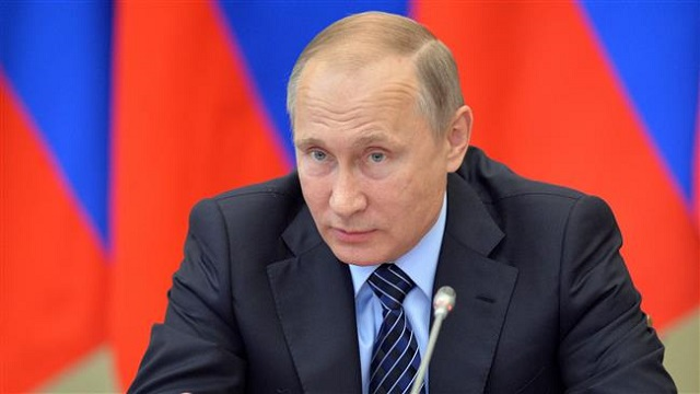 Vote for 'love of the fatherland', Putin tells Russians