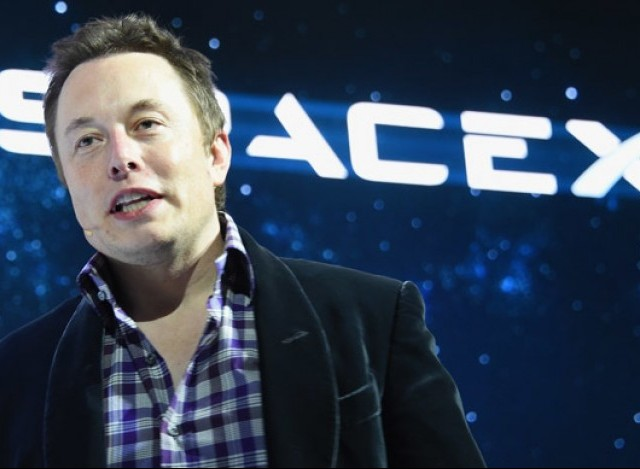 Musk, the founder of rocket and spacecraft company SpaceX, said the company's interplanetary ship could begin test flights as soon as next year. PHOTO: AFP