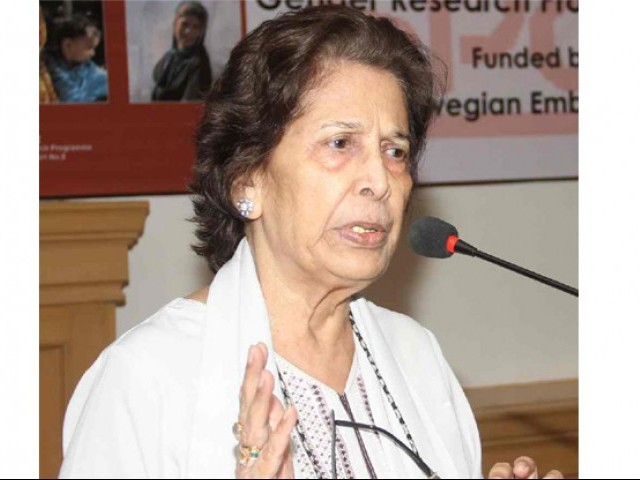 Justice (retd) Majida Razvi presided over the session. PHOTO: FILE