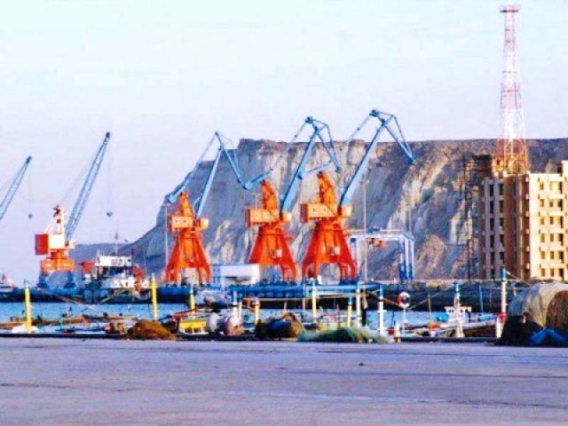 Burki said although the project was touted as a game changer, CPEC will add possibly 2% to the growth of Pakistan's GDP. PHOTO: FILE