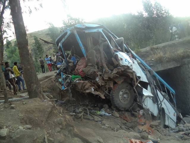 Image result for Ethiopia Horrible Bus Accident Killed 38 Passengers