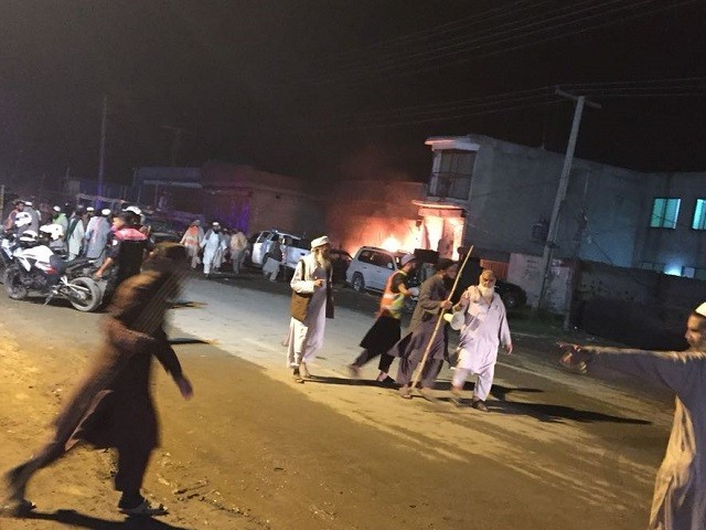 At least 20 including policemen injured in explosion near Raiwand