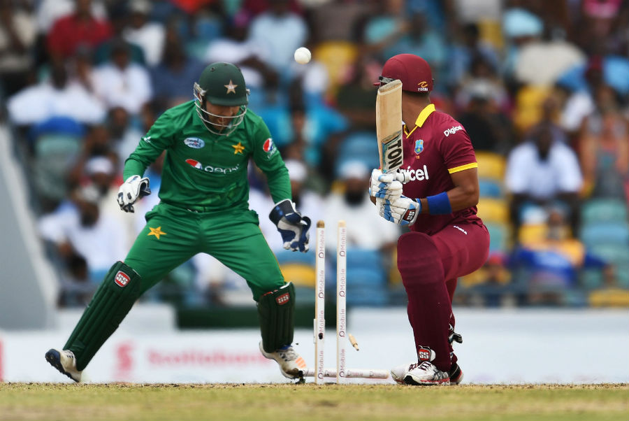 TRADE OFF: West Indies will tour Pakistan in April for three T20Is and then the latter will visit the US and Canada in a reciprocal tour. PHOTO: AFP