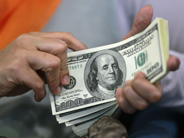us dollar rate is ringing alarming bells and calling for immediate attention of the sbp photo file