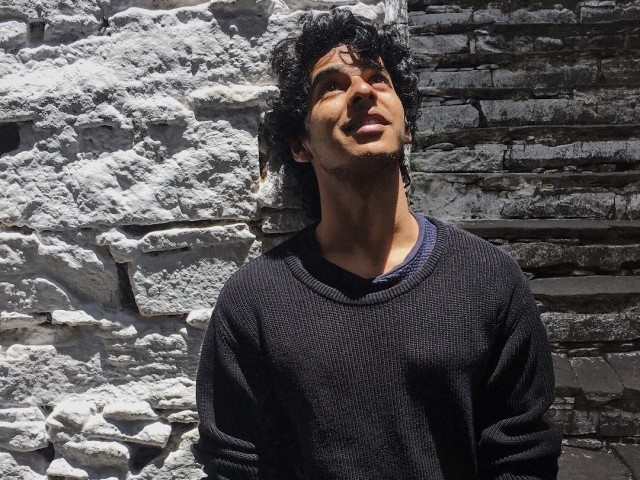 PHOTO: INSTAGRAM/ ISHAAN KHATTER