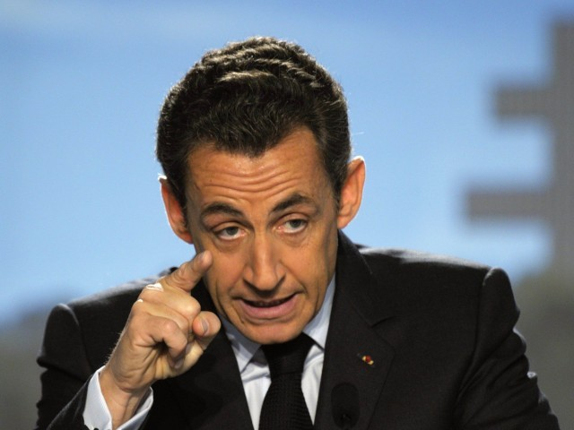 Nicolas Sarkozy in police custody over 'Gaddafi funding'