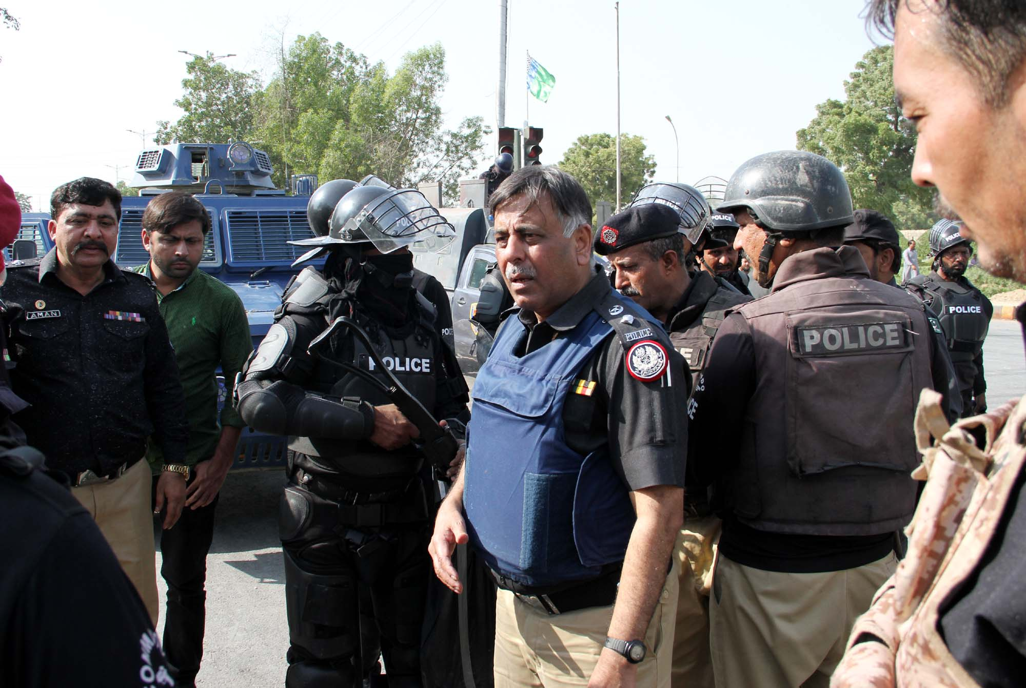 Rao Anwar arrested from Supreme Court