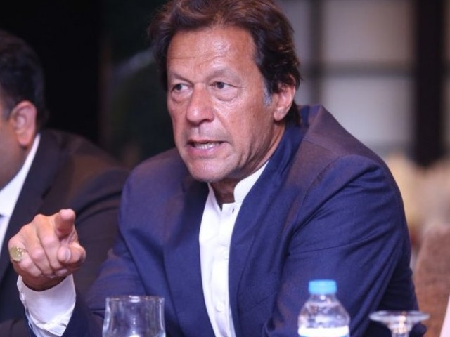 PTI Chief Imran Khan. PHOTO: PTI OFFICIAL