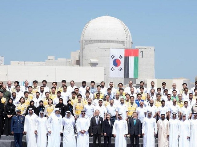 Abu Dhabi crown prince hails completion of first nuclear power plant