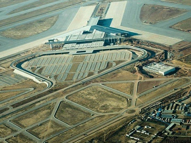 The airport had initially been slated to be built by August 14 last year. PHOTO: FILE