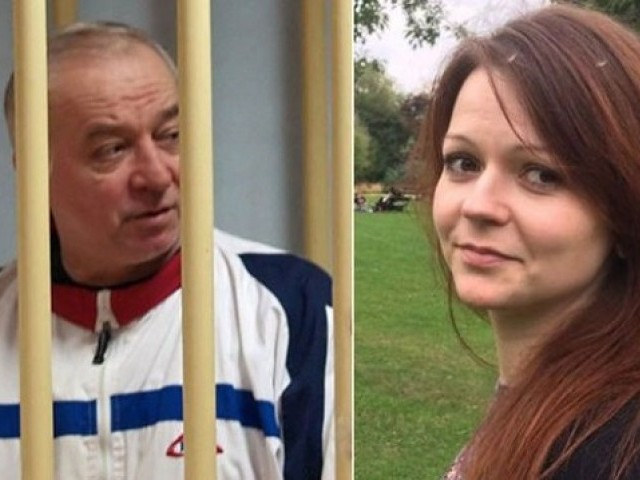 Sergei Skripal, 66, and his daughter Yulia, 33 were poisoned by a nerve agent called Novichok. PHOTO: BBC
