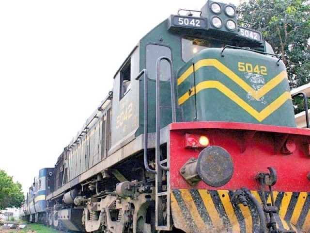The project had been conceived to upgrade Pakistan Railways' dilapidated and obsolete infrastructure. PHOTO: FILE