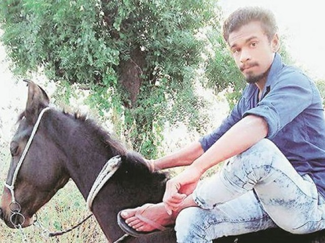 Low-caste Indian Dalit killed for owning horse - The Express Tribune The Express Tribune The body of 21-year-old Pradeep Rathod was found in a pool of