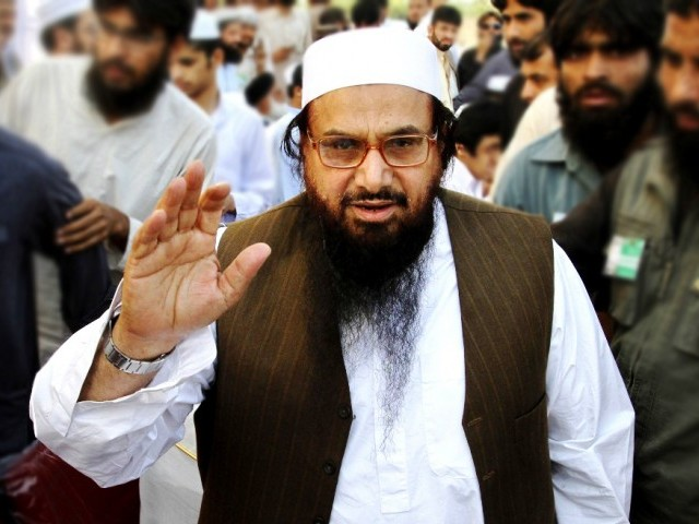 Hafiz Saeed. PHOTO: REUTERS/FILE