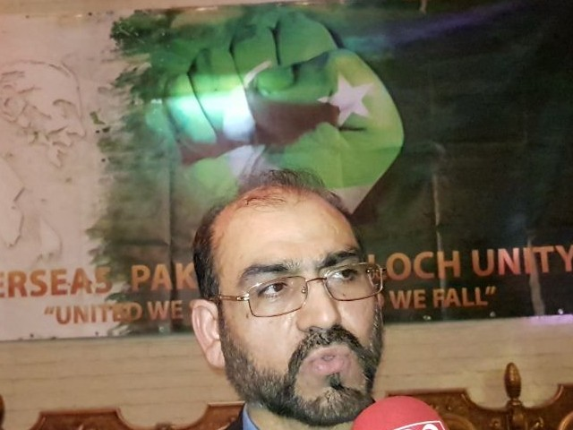 OPBU founder Dr Jumma Khan Marri. PHOTO: FILE