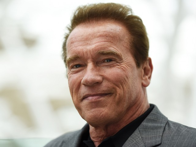 Arnold Schwarzenegger home after open-heart surgery