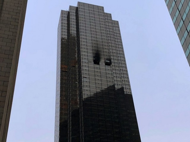 One killed in apartment fire at Trump Tower
