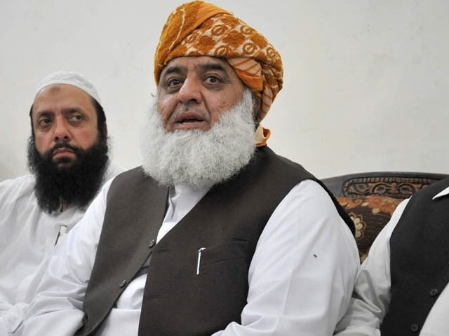 In this photo JUI-F chief Fazlur Rehman was called to Islamabad to revive Muttahida Majlis-e-Amal. PHOTO: SANA /FILE