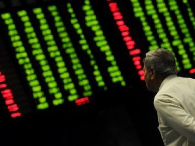 Benchmark index edges up 9.77 points to close at 46,486.50. PHOTO: FILE