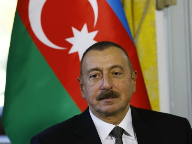 Azerbaijan strongman Aliyev wins fourth term
