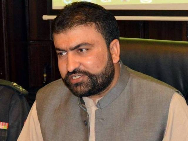 Balochistan Minister for Home and Tribal Affairs Sarfraz Bugti. PHOTO: INP