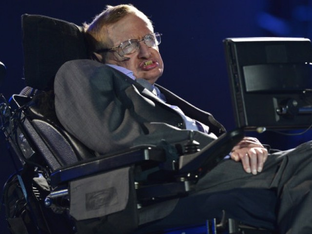 British scientist Stephen Hawking. PHOTO: AFP