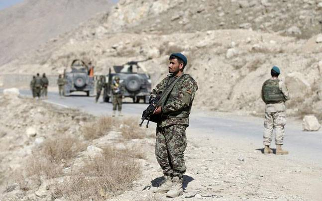Two security personnel injured in Afghan cross border attack