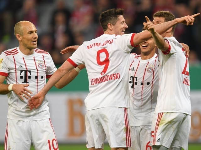 Bayern trash Leverkusen 6-2 in German Cup semifinal