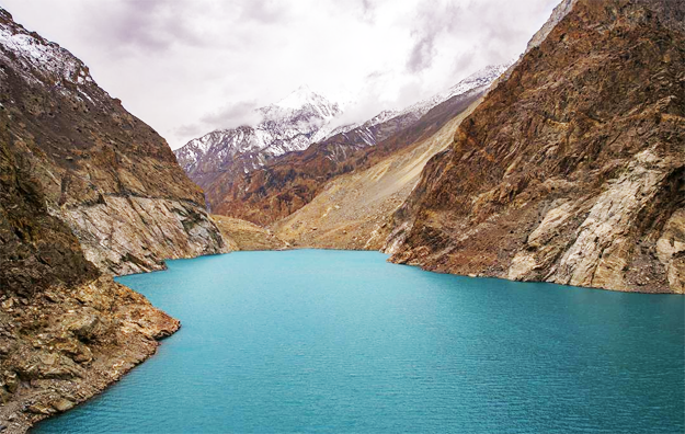 Attabad Lake. PHOTO: HASSAN SAJID